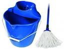 Úklidová souprava MODRÁ  kbelik+mop  Spoka /4299909200