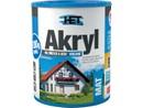 Akryl 0820 červená MAT 0,7 kg + 0,2 kg zdarma
