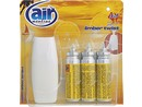 AIR menline happy spray osvěžovač 3x15ml Limber twist 6111