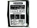 Folie zakrývací 200my LDPE-4x5m/spoka/ 8300149200