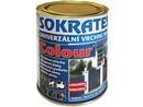 Sokrates Colour vrchní barva pololesk univerzální červená 0820 0,7 kg