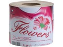 Toaletní papír 400x1 Flowers  Classic