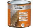 Prince Color Decotop PL 0,75l lak čirý PU na dřevo univerzální SATÉN