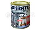 Sokrates email BRISK vnitřní akryluretanový bílý polomat 5 kg