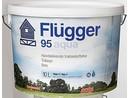 Flügger 95 Aqua tónovaná  středněvrstvá VŘ lazura 3 L