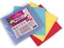 Utěrka houbová 4ks mikrovlákno mix barev Cleanax 978