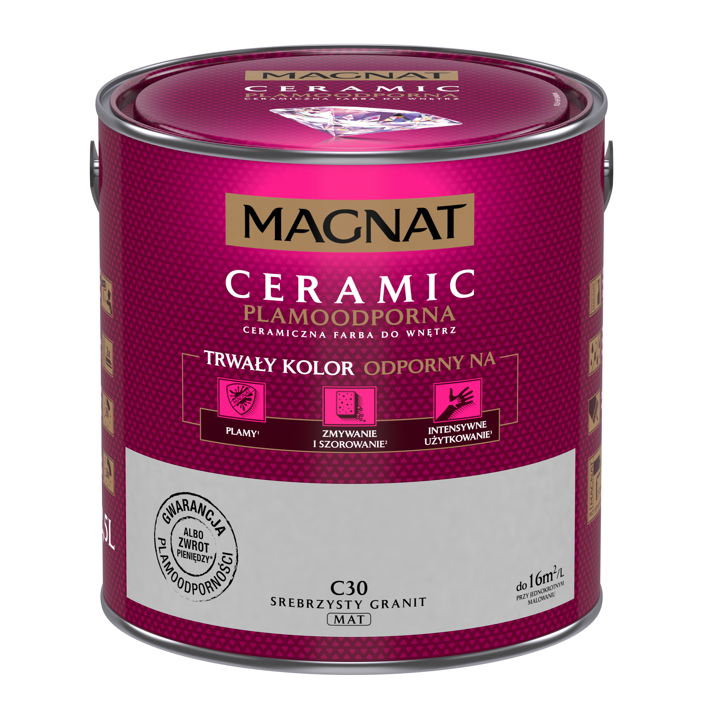 MAGNAT Ceramic C30 stříbřitá žula  2,5L