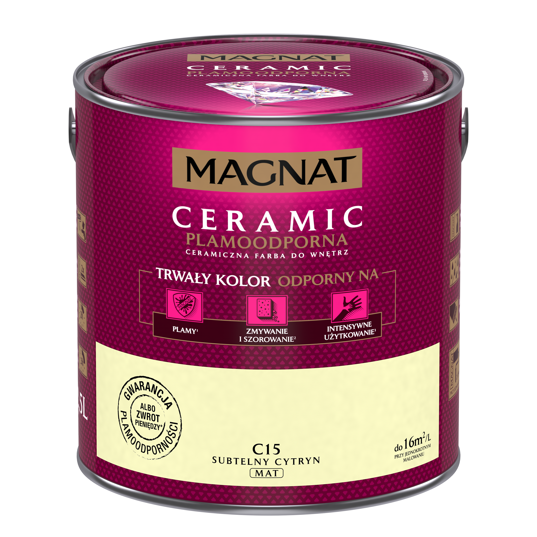 MAGNAT Ceramic C15 jemný citrín  2,5L