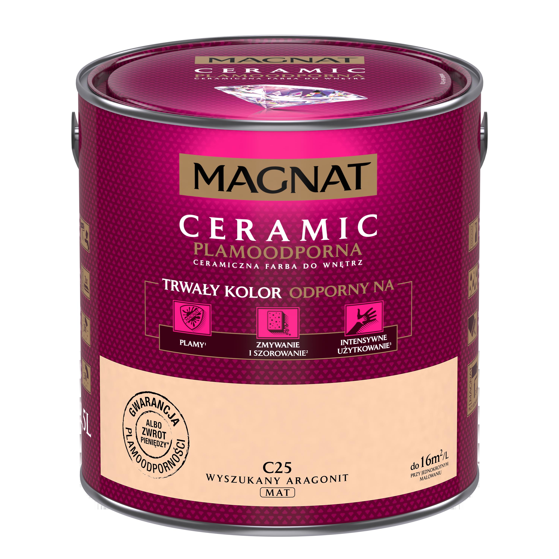 MAGNAT Ceramic C25 zdobný aragonit  2,5L