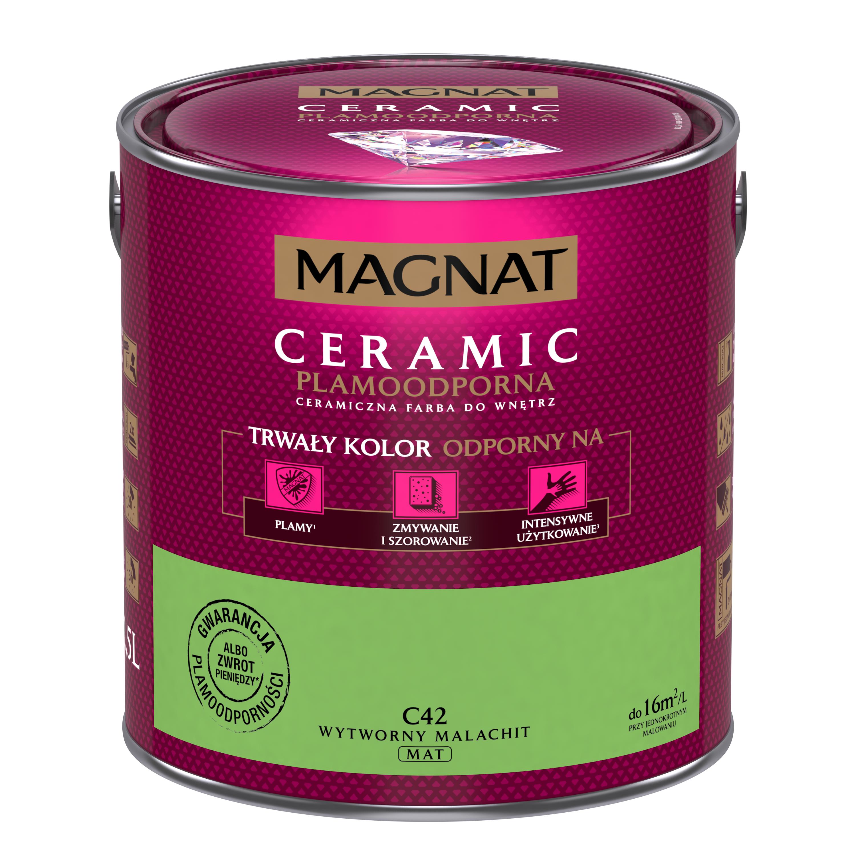 MAGNAT Ceramic C42 noblesní malachit  2,5L
