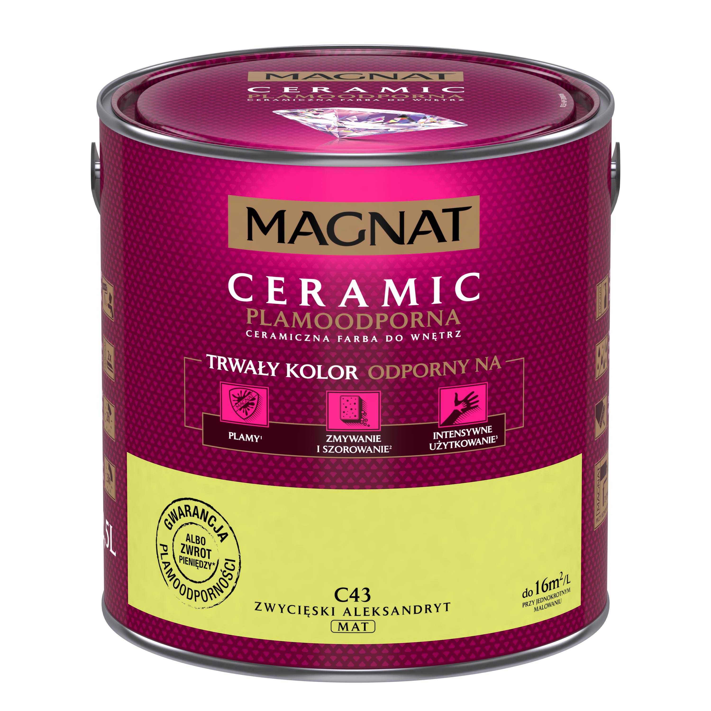 MAGNAT Ceramic C43 vítězný alexandrit  2,5L