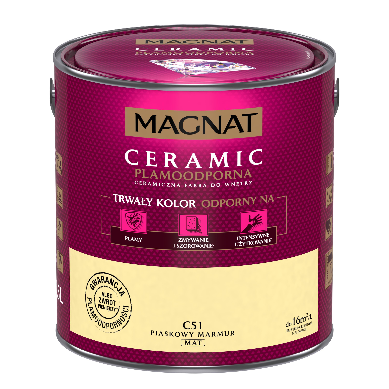 MAGNAT Ceramic C51 pískový mramor  2,5L