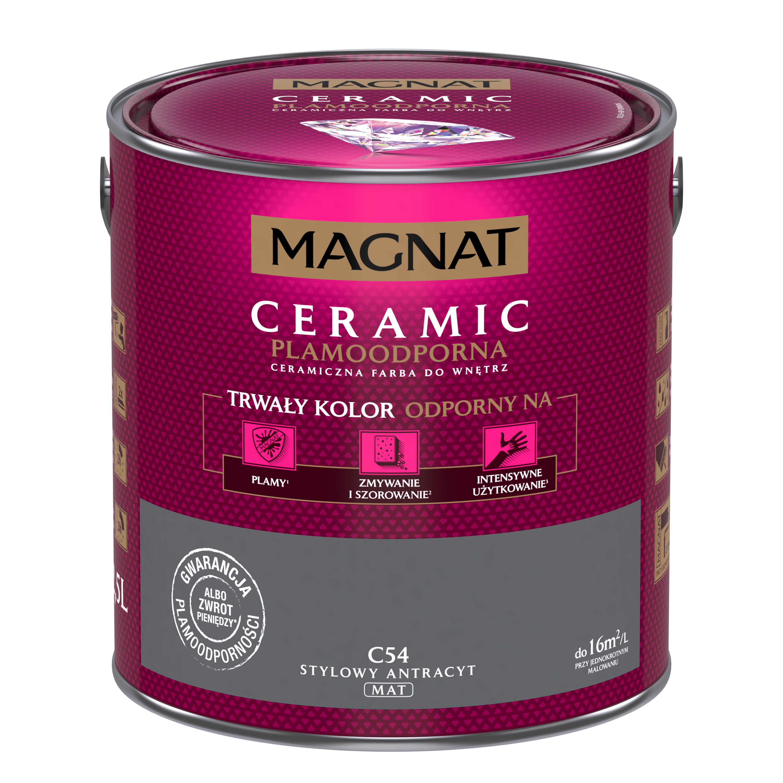 MAGNAT Ceramic C54 stylový antracit  2,5L