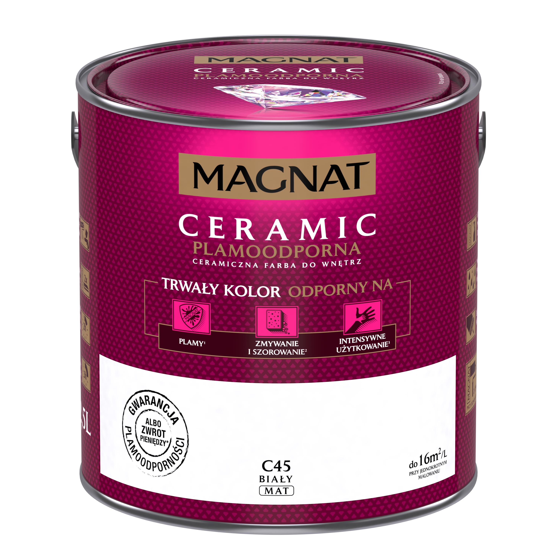 MAGNAT Ceramic C45  bílý  2,5L