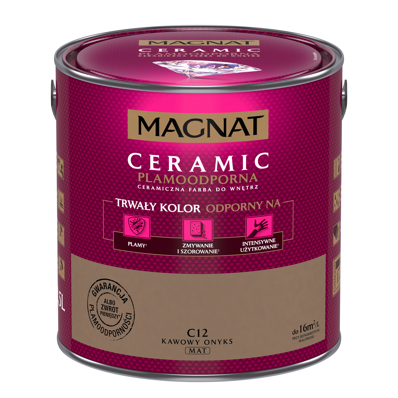 MAGNAT Ceramic C12 kávový onyx 2,5L