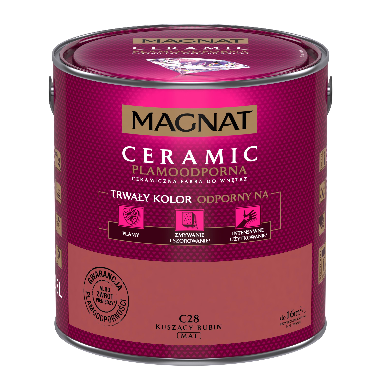 MAGNAT Ceramic C28 lákavý rubín 2,5L