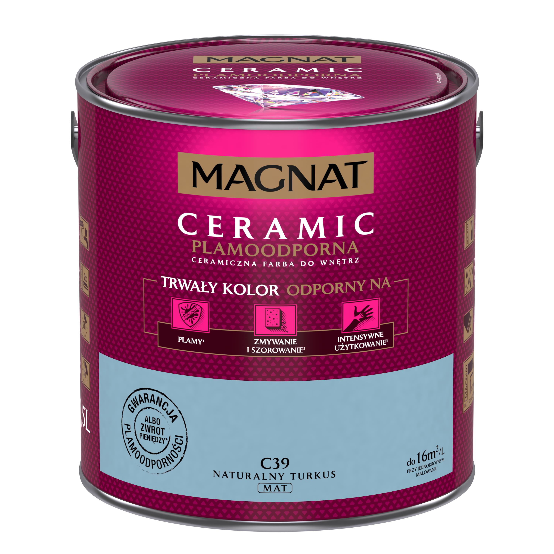 MAGNAT Ceramic C39 přírodní tyrkys  2,5L