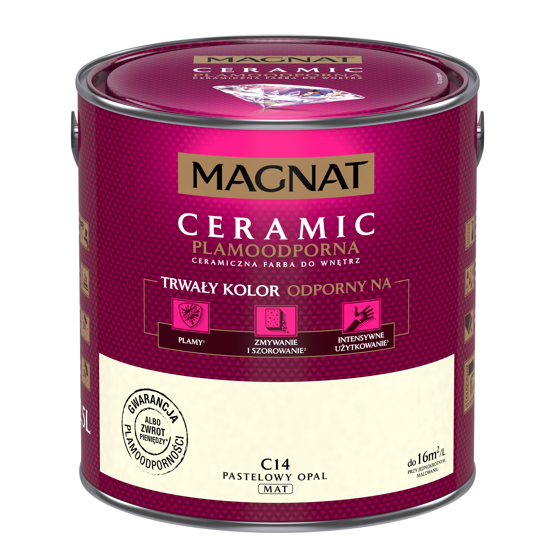 MAGNAT Ceramic C14 pastelový opál 2,5L