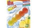 Dr. Devil WC 5ball BiCOLOR Lemon fresh závěs 35g  6446