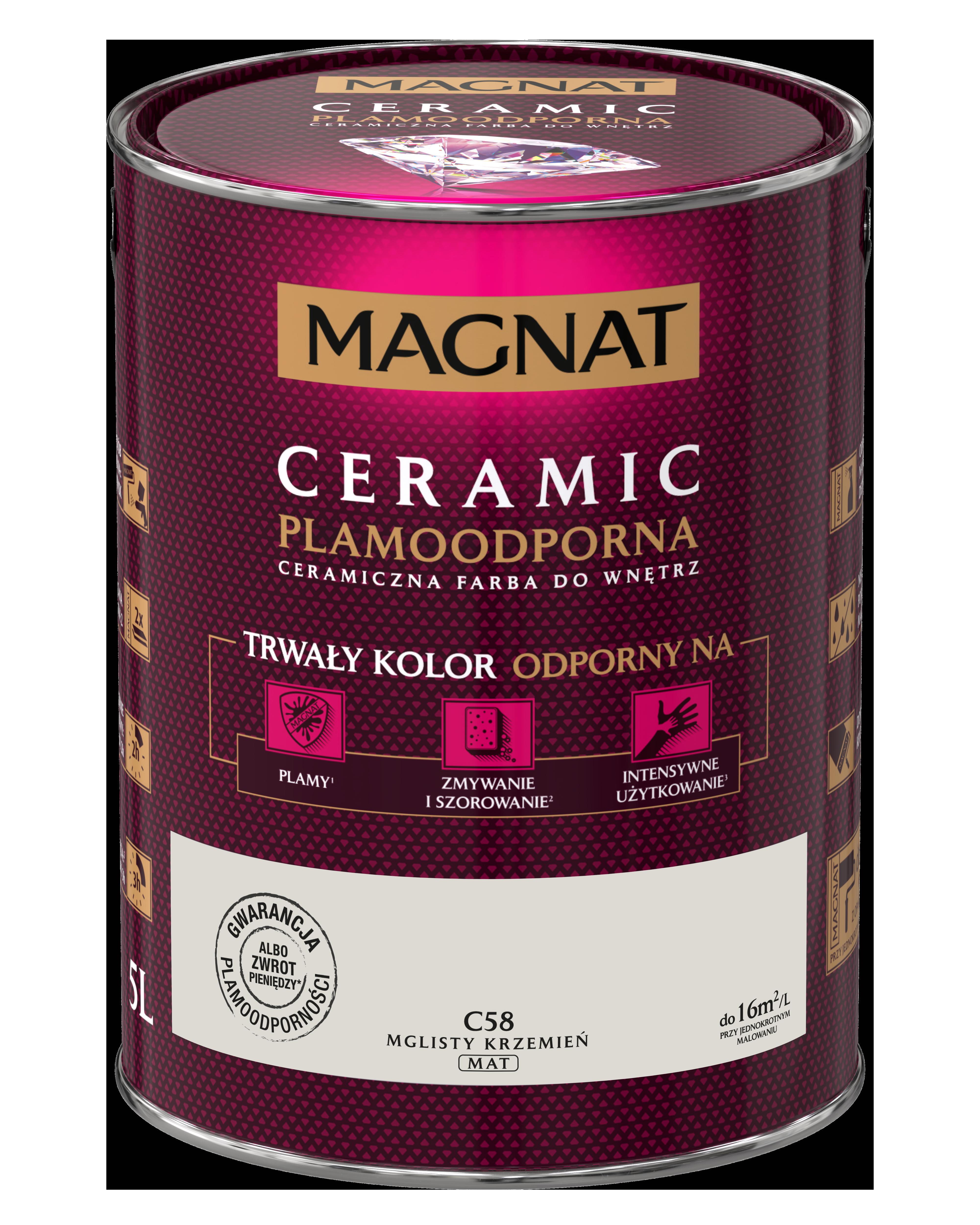 MAGNAT Ceramic C58 mlhavý pazourek 5L  §