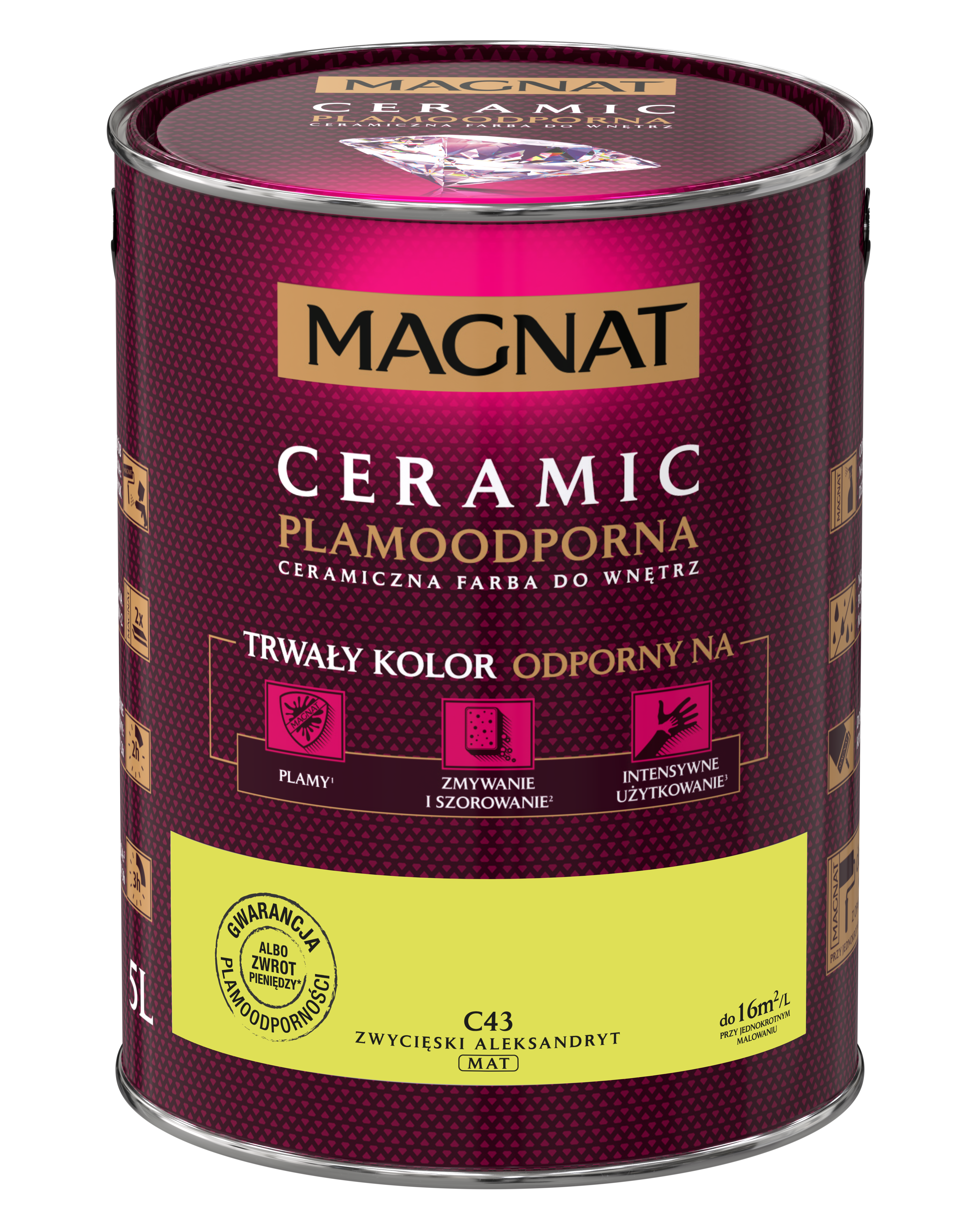 MAGNAT Ceramic C43 vítězný alexandrit  5L  §