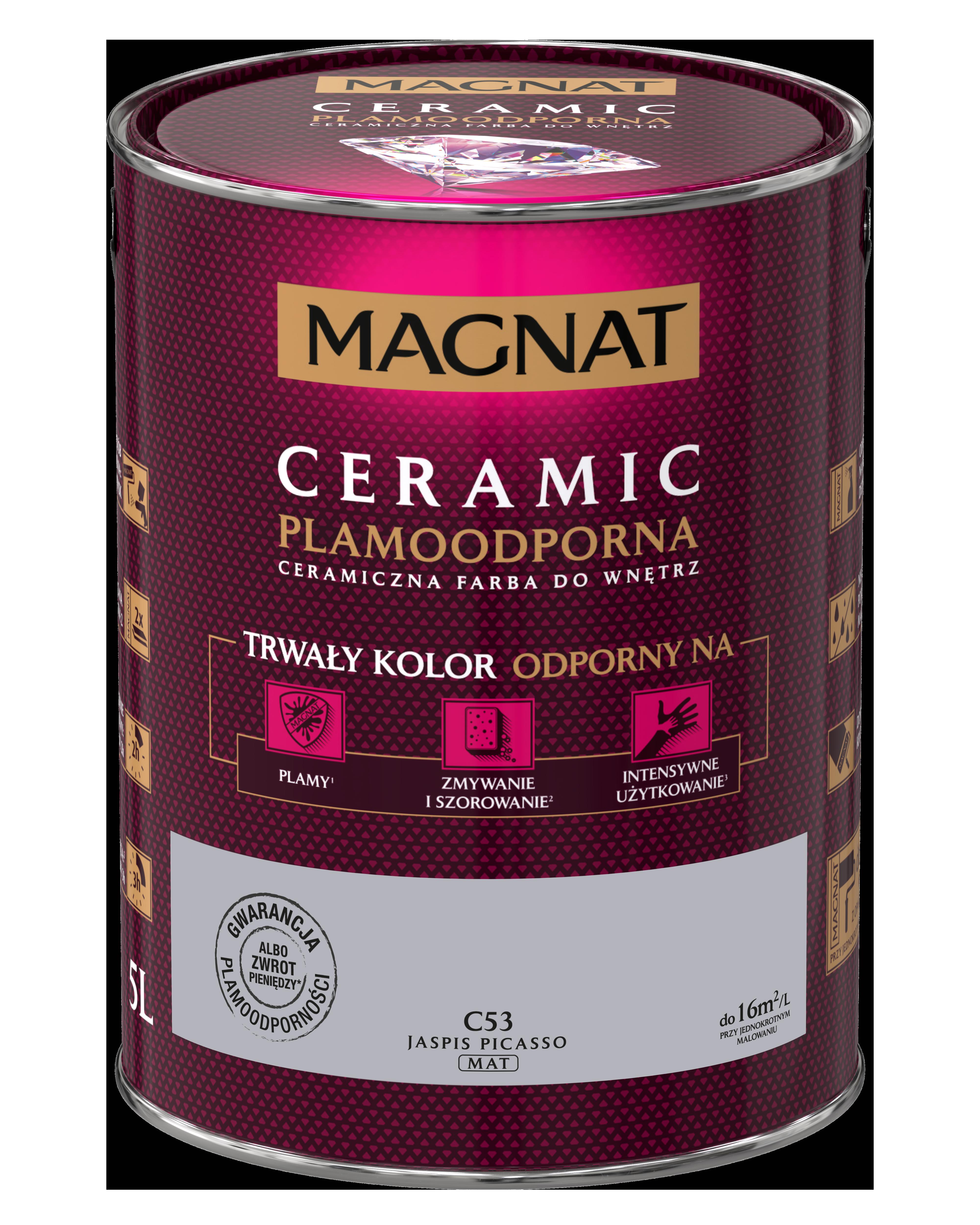 MAGNAT Ceramic C53 jaspis picasso  5L  §