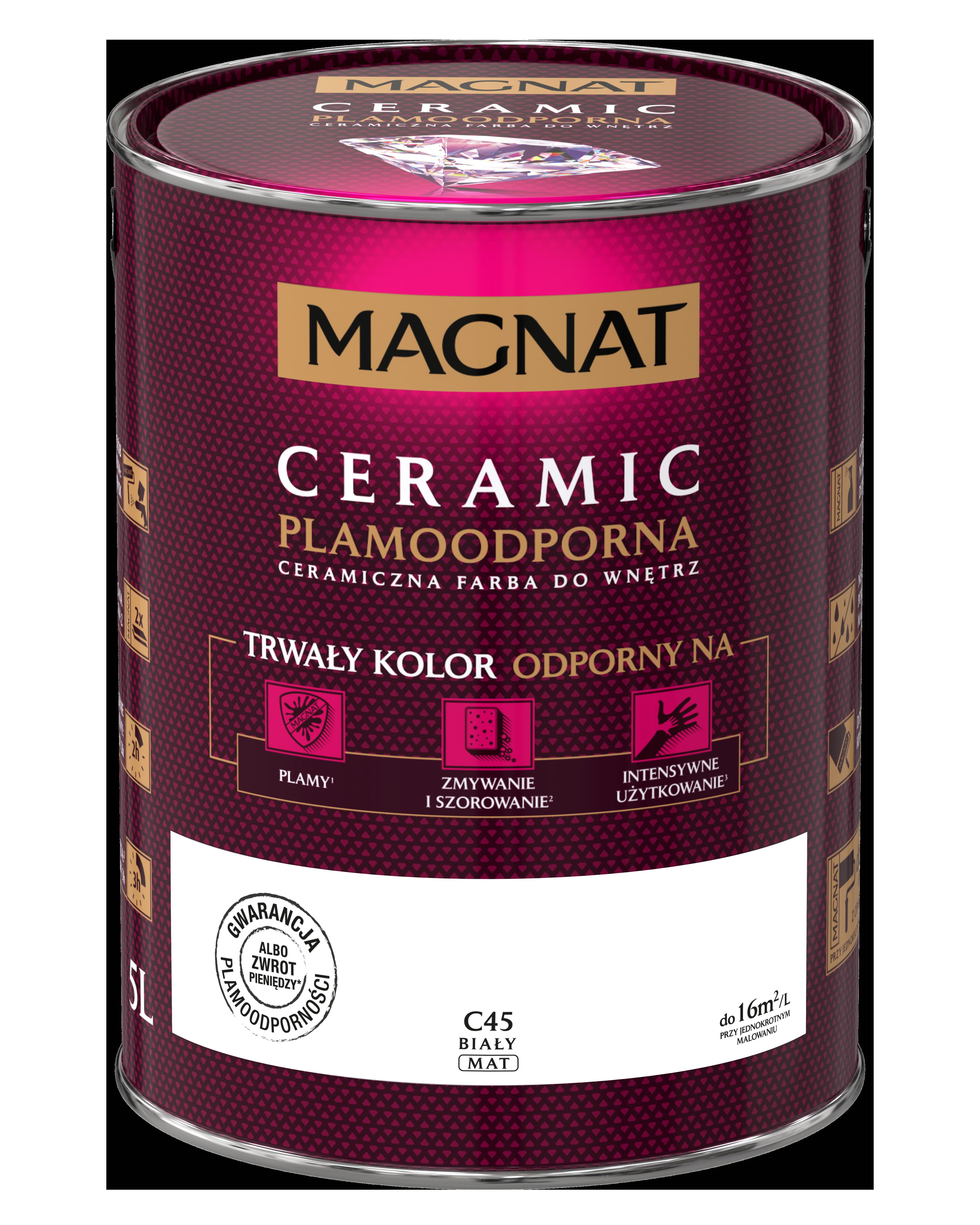MAGNAT Ceramic C45  bílý   5L