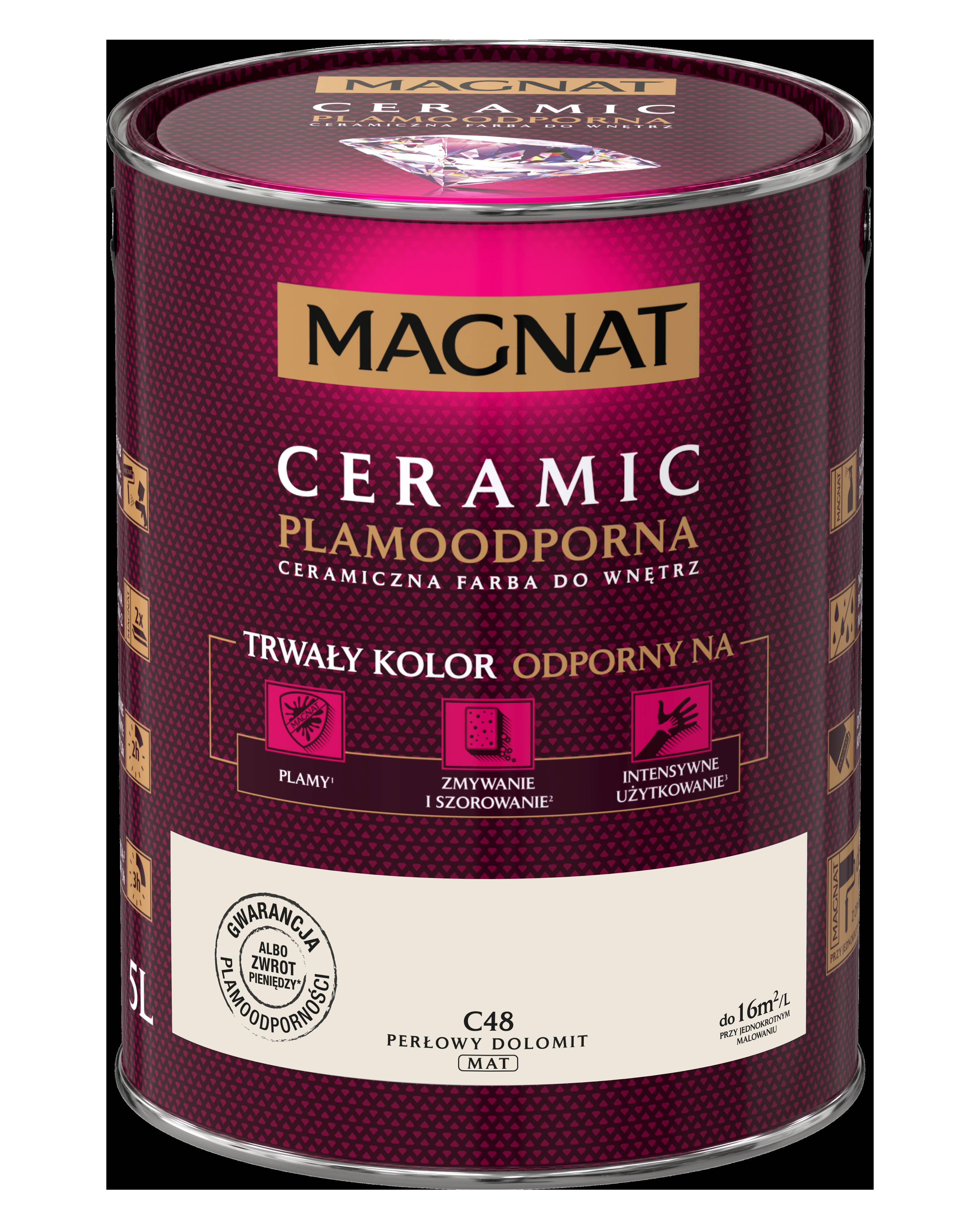 MAGNAT Ceramic C48 perlový dolomit   5L  §
