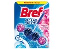BREF Power WC závěs Blue Aktiv Fresh Flowers (50 g)  kuličky barvící