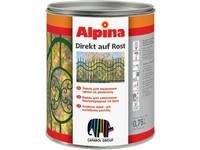Caparol Alpina Direkt auf Rost  stříbrná lesk RAL 9006 750ml