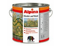 Caparol Alpina Direkt auf Rost  zelená lesk RAL 6005 2,5l