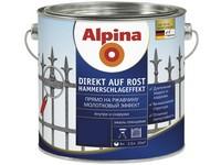 Caparol Alpina Direkt auf Rost kladívkový černá  2,5L