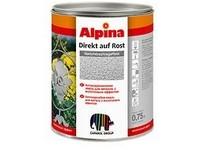 Caparol Alpina Direkt auf Rost kladívkový černá 0,75L