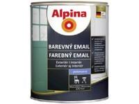 Caparol Alpina Email polomat hnědá oříšková RAL 8011 750 ml