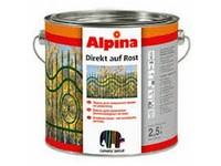 Caparol Alpina Direkt auf Rost  slonová kost lesk RAL 1015 2,5l