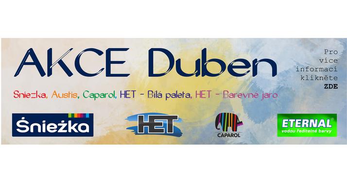 Akce DUBEN 2018
